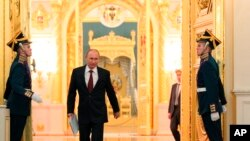 ທ່ານ Vladimir Putin ປະທານາທິບໍດີຣັດເຊຍ