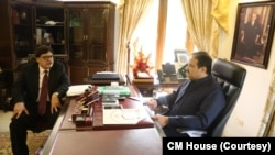 چیف سیکریٹری پنجاب میجر (ریٹائرڈ) اعظم سلیمان سابق وزیر اعلیٰ شہباز شریف کی ٹیم کا بھی حصہ رہے ہیں۔ (فائل فوٹو)