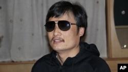 中國盲人維權者陳光誠。
