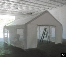 Antuan's tent design for Haiti