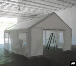 Antuan's tent design for Haiti