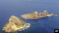 Quần đảo trong vòng tranh chấp, Nhật Bản gọi là Senkaku và Trung Quốc gọi là Điếu Ngư