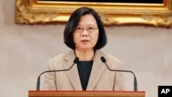 Presidente taiwanesa Tsai Ing-we