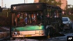 18일 이스라엘 예루살렘 한 복판에서 버스가 폭발해 최소 15명이 다쳤다고, 현지 경찰이 밝혔다.