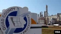 Fabrika etanola u Galvi u Ajovi pretvara kukuruz u gorivo za automobile.