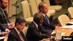 လံုၿခံဳေရးေကာင္စီမွာ Kofi Annan ျမန္မာ့အေရး႐ွင္းလင္း။