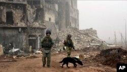 Thành phố Aleppo ở Syria