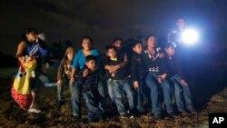 Ilegalni imigranti na američko - meksičkoj granici