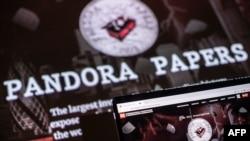 تصویری از طرح یک روزنامه فرانسوی درباره «اسناد پاندورا»