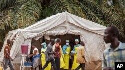 Kituo cha kupima Ebola cha Kenema, Freetown - Sierra Leone. Aug. 9, 2014