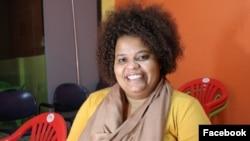Fernanda Lobato, activista do Olho Cidadão, YALI 2015. Moçambique