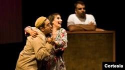 """""""Tango turco"""" llega a Washington con la actuación de Marcela Ferlito, Alfredo Sánchez y Jerry Daniel. [Foto: Cortesia, Teatro de La Luna]."""