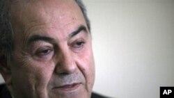 伊拉克前总理阿拉维(档案照)
