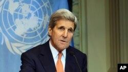 John Kerry, Vienne, 30 octobre 2015
