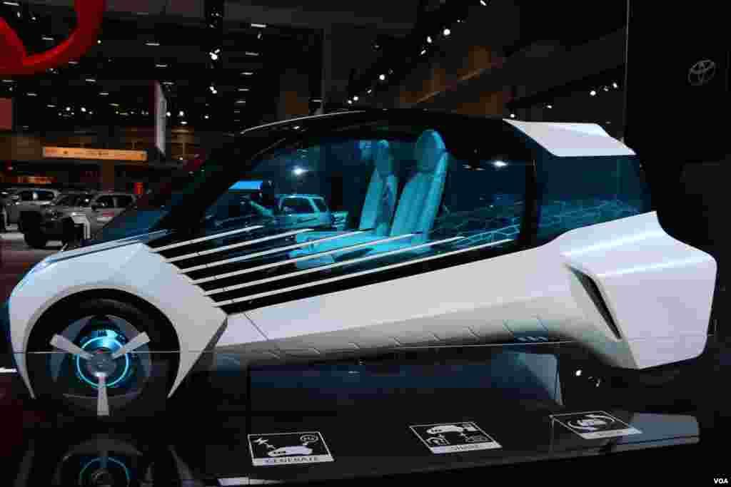 نمایشگاه اتومبیل واشنگتن تویوتا Model: FCV Plus Concept (2015)