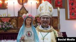 中国温州罗马天主教地下教会主教邵祝敏 (资料照片)