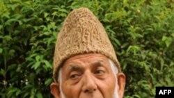 Ông Syed Ali Shah Geelani, thủ lĩnh hàng đầu của phe ly khai tại Kashmir