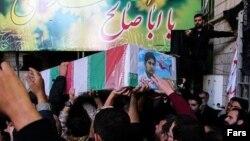 مصطفی موسوی نظامی ایرانی کشته شده در سوریه