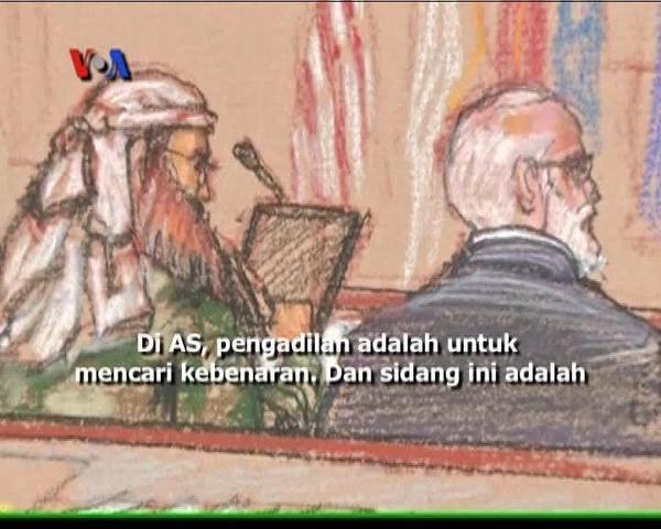 Sidang Pra-peradilan Khalid Sheik Muhammad - Liputan Berita VOA