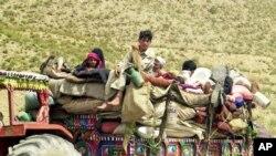 مهاجر وزیرستان شمالی در خوست