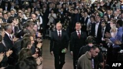 Vahid Rusiya partiyası Vladimir Putinin namizədliyini irəli sürdü