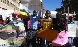 Thomas Chiripasi Reports on Harare Demonstrations Over National Pledge
