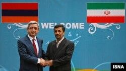 سرژ سركيسيان در سفر به ایران- سال ۱۳۹۰