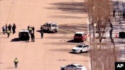 Policija ispred Bele kuće