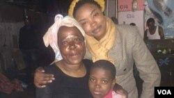 UNkosazana Vimbaishe Musvaburi ume ngezizalwane zeZimbabwe ezidinga umsebenzi