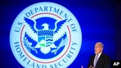 Министр внутренней безопасности США Джон Келли
