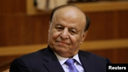 Yemeni President Abd-Rabbu Mansour Hadi (2012 photo)