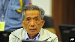 Kaing Guek Eav, alias Duch, admitted to overseeing the torture and killing of 16,000 people as the Khmer Rouge's chief prison warden returned to the courtroom in Cambodia to appeal his 19-year prison sentence for war crimes and crimes against humanity.