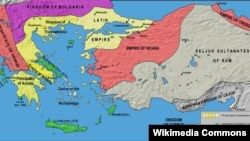 Map of Epirus