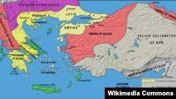 Map of Epirus
