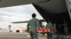 台灣空軍與海巡署 2017年7月24日一道舉行太平島救援演練(美國之音黎堡攝)