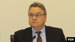 國會及行政當局中國委員會(CECC)主席克里斯史密斯(資料圖片)