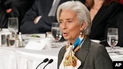 ທ່ານນາງ Christine Lagarde ຫົວໜ້າອົງການ IMF