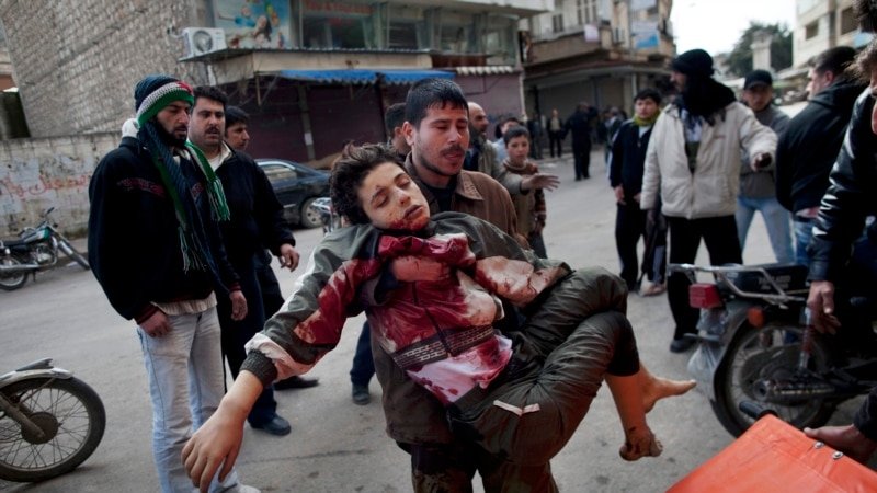 Activists Say Syrian Death Toll Tops 100,000