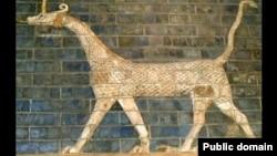 موشخوشو، نماد مردوک، ایزد ایزدان بابل