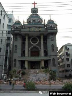 下岭教堂(网络图片)