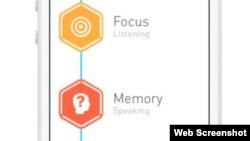Elevate es todo un reto para el cerebro. Esta disponible para iPhone y Android.