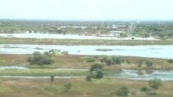 Rio Luando em Luquembo