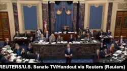 Sudjenje predsedniku SAD Donaldu Trampu u Senatu