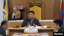 지난 3월 티베트 망명의회 펜파 체링 의장. (자료 사진)