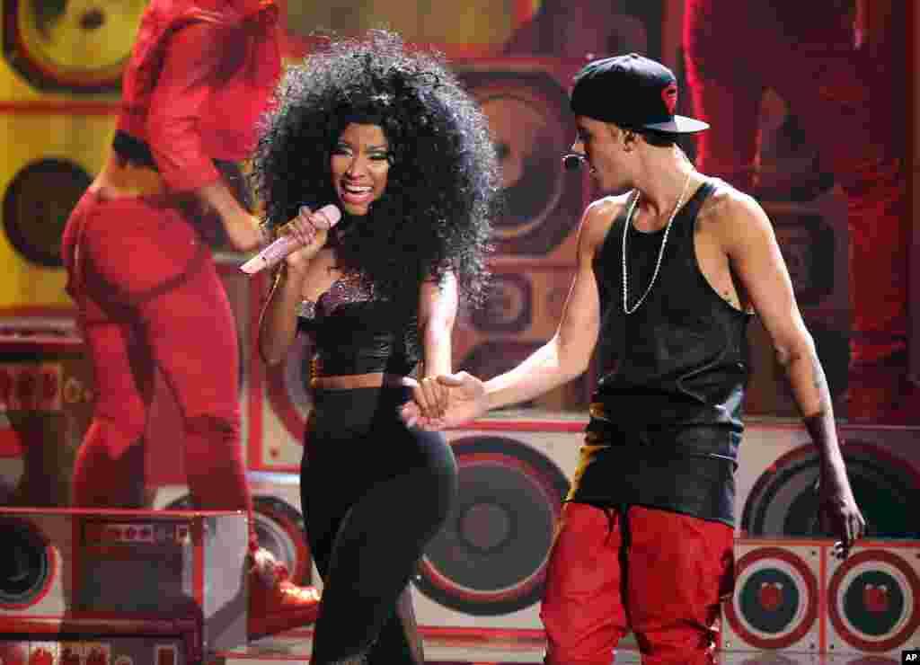Justib Bieber fue la sensación del espectáculo.