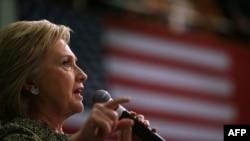 ဓီမိုကရက္ပါတီ သမၼတေလာင္း ေရြးခ်ယ္ေနရာမွာ အသာစီးရေနတဲ့ ႏိုင္ငံျခားေရးဝန္ႀကီးေဟာင္း Secretary of State Hillary Clinton (ေဖေဖာ္ဝါရီ ၂၈၊ ၂၀၁၆)