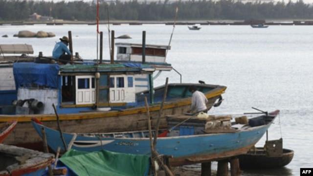 Thuyền đánh cá của ngư dân Việt Nam