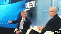마이클 맥카울 하원 국토안보위원장이 18일 미국기업연구소(AEI) 토론회에 참석했다.