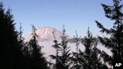 Mt. St. Helen's u američkoj saveznoj državi Washington