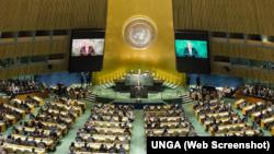Varios presidentes latinoamericanos pronunciaron discursos en laAsamblea General, entre otros Paraguay, Panamá, Chile, Ecuador y la vicepresidenta de Argentina.